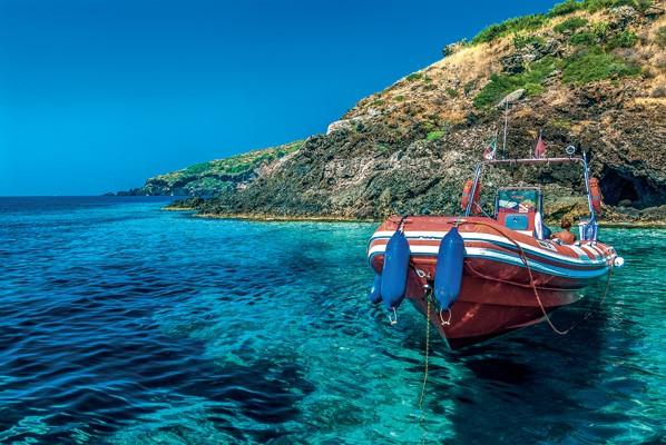 A Ustica il mare più limpido della provincia di Palermo: «5