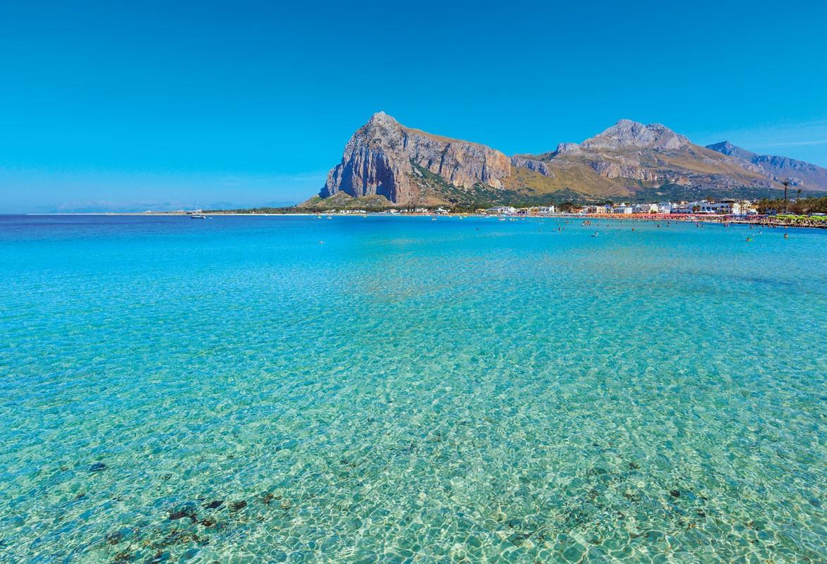 Il mare caraibico di San Vito lo Capo il più bello d'Italia: