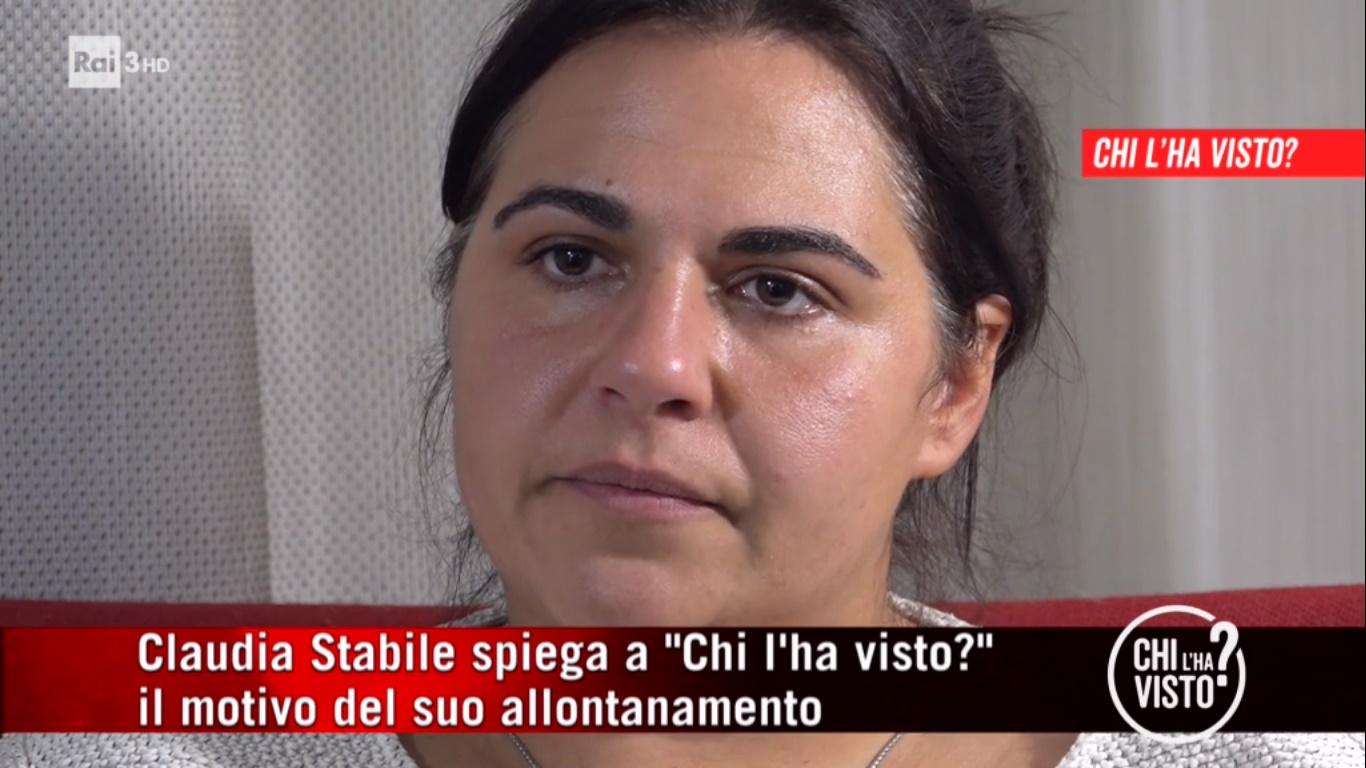 Claudia Stabile compare in TV, ecco perchè sono scomparsa da