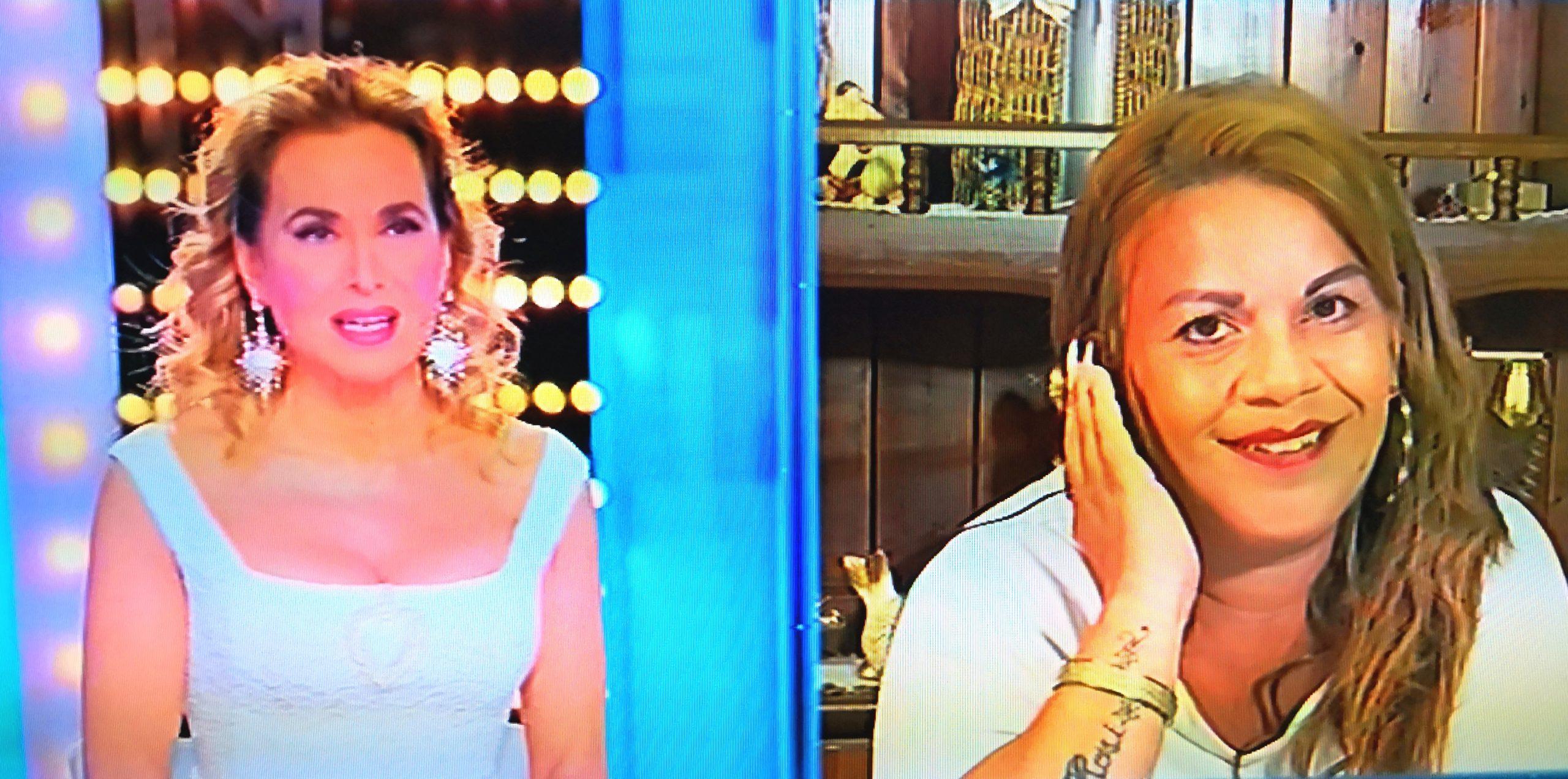 """""""Non ce n'è Covid"""", Angela minacciata di morte torna a """"Live"""