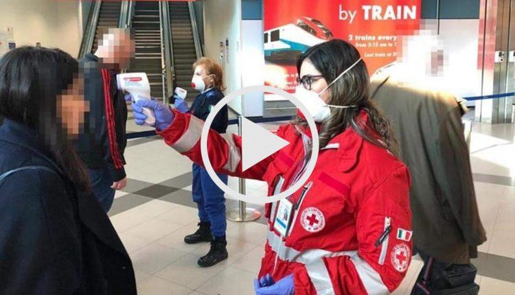 aeroporto controlli coronavirus
