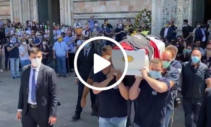Lacrime al funerale di Milena Visalli, morta a soli 34 anni (VIDEO)