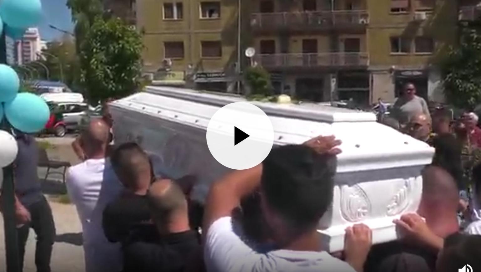 Il funerale di Agostino Cardovino a Palermo e l'incrocio della morte (VIDEO)
