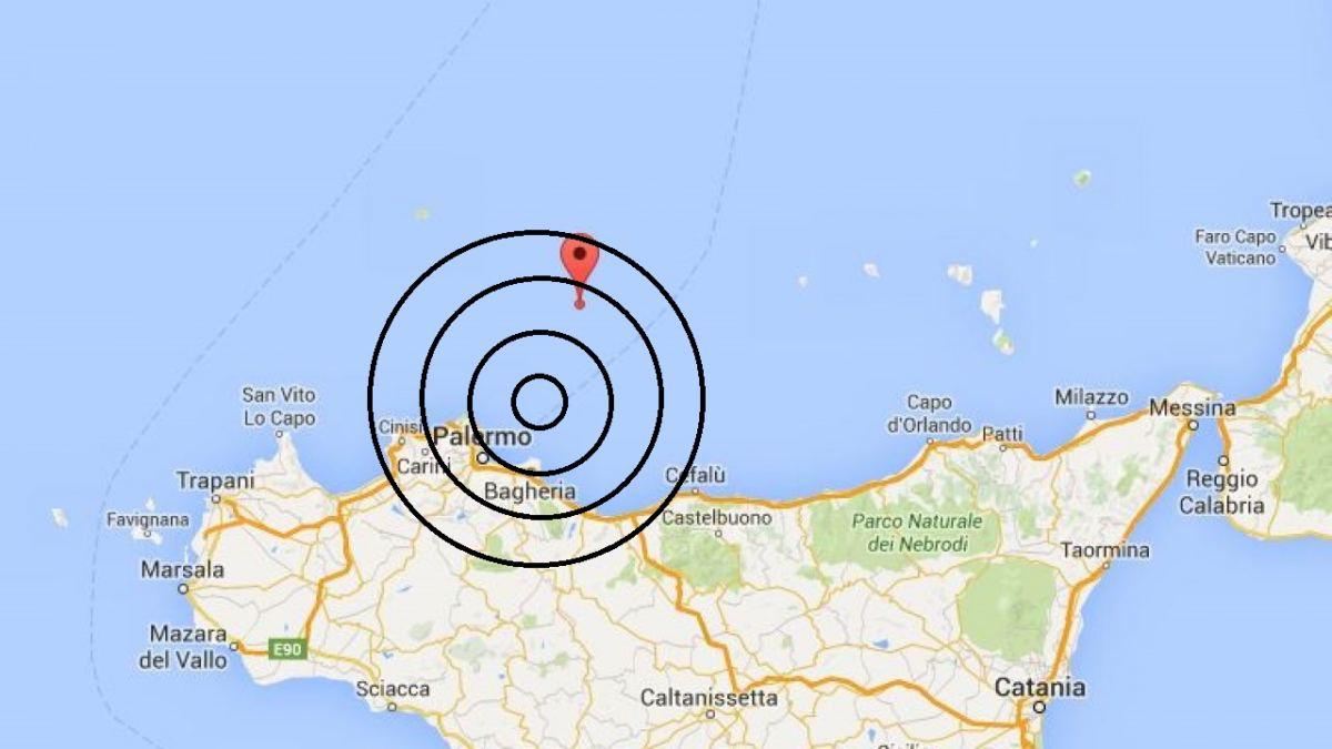 terremoto a palermo oggi