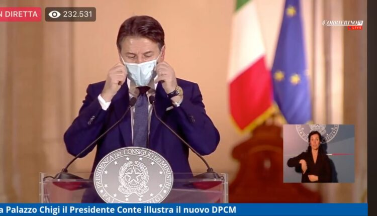 Nuovo Dpcm Natale 2020 Giuseppe Conte